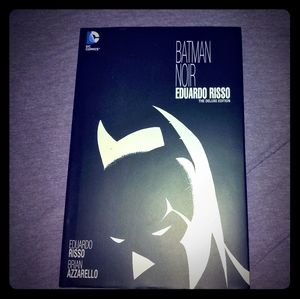 Batman Noir, Hardcover Graphic Novel.Like Sin City